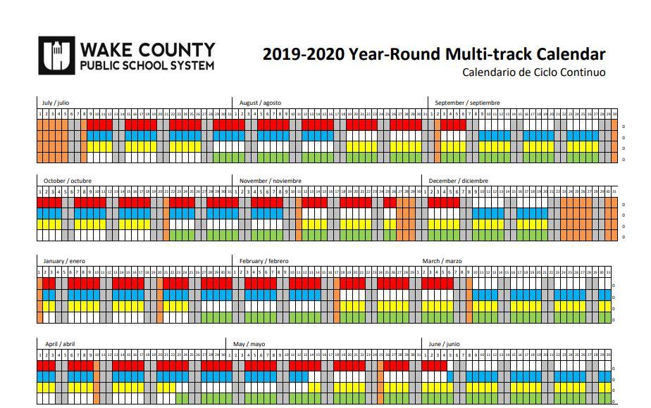 Wake County Year Round Calendar 2020 Understanding Year Round Schools